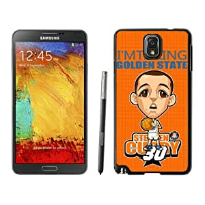 Fashionable Antiskid Cover Case For Samsung Galaxy Note 3 N900A N900V N900P N900T With Golden State Warriors Stephen Curry 9 Black Phone Case