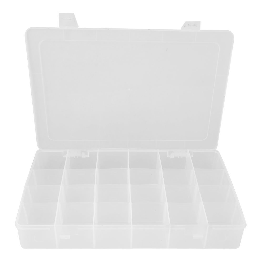 Amazon.com  uxcell Clear White Plastic 24 Compartments Fishing Fish Lure Storage Box Case  Fishing Tackle Boxes  Sports u0026 Outdoors  sc 1 st  Amazon.com & Amazon.com : uxcell Clear White Plastic 24 Compartments Fishing ... Aboutintivar.Com