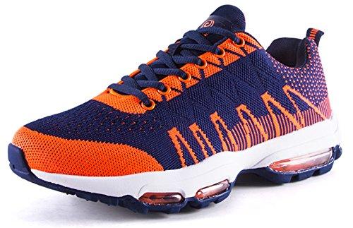 Scarpe Da Corsa Professionali Flessibile Cuscino Daria Fitness Da Passeggio Sneaker Scarpe Sportive Da Uomo Arancione