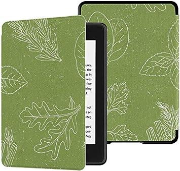 Estuches Paperwhite para Kindle Estuche de Cocina Peppermint Spicy Herbs Estuche Kindle Paperwhite para Lector de Libros electrónicos con activación/Reposo automático Funda Kindle para Paperwhite: Amazon.es: Electrónica