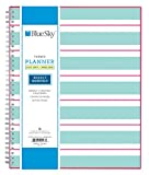 Blue Sky 2017-2018 Academic Year Weekly & Monthly Planner, Twin-Wire Bound, 8.5'' x 11'', Capistrano