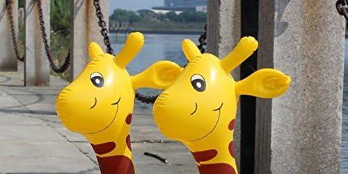Kingstons Juguete de dibujos animados, hinchable, jirafa, juguete ...