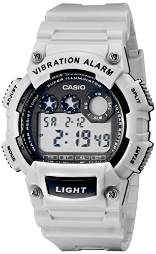 Casio W 735H 8A2VCF Vibration Alarm Digital