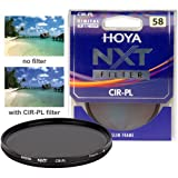 Hoya 58mm NXT Circular Polarizing Slim Frame Glass Filter