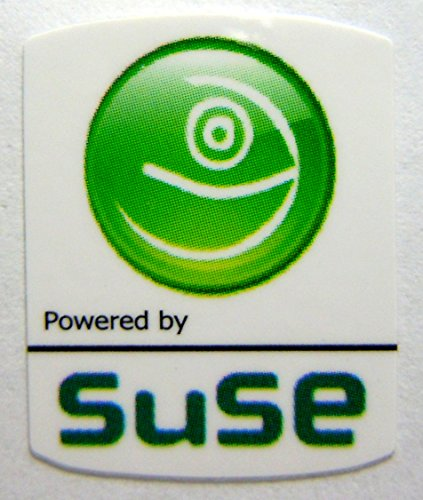 Powered by Suse Linux Sticker 19 x 24mm - Sticker Suse