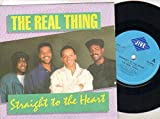 Real Thing - Straight To The Heart - 7 inch vinyl / 45