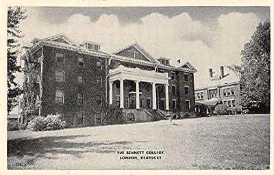 sue bennet college london kentucky L4727 antique postcard
