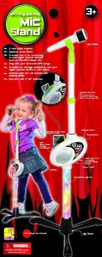 My-Mic Adjustable Microphone Stand for iPod, MP3, Plug an...