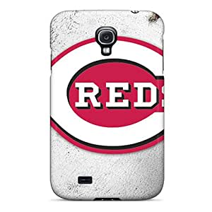 Samsung Galaxy S4 EZz15742gQAi Provide Private Custom Beautiful Cincinnati Reds Pictures Anti-Scratch Hard Phone Cases -LavernaCooney