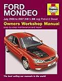 Ford Mondeo Petrol & Diesel 03-07 (Haynes Service and Repair Manuals)