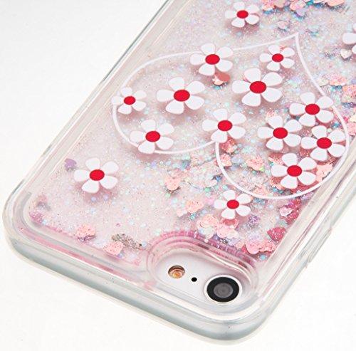 Für Apple iPhone 7 (4,7 Zoll) Hülle ZeWoo® TPU Schutzhülle Silikon Tasche Case Cover - GS139 / Liebe Chrysanthemum