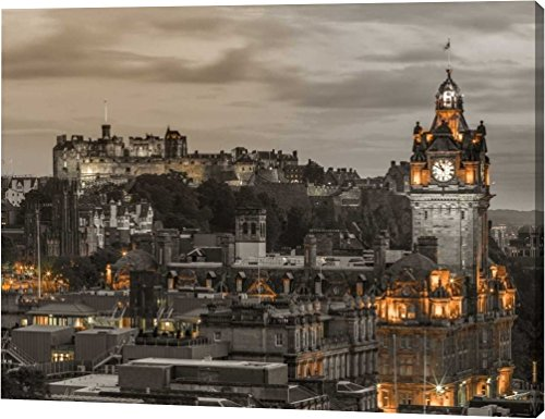 Edinburgh Castle and The Balmoral Hotel, Scotland by Assaf Frank - 20