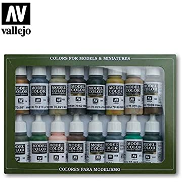 Acrylicos Vallejo WWII German