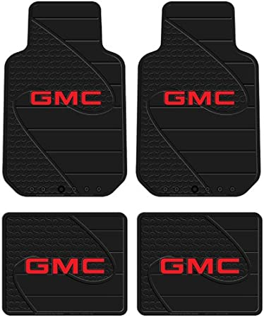 Amazon Com Front Rear Seat Car Truck Suv Rubber Floor Mats Fits