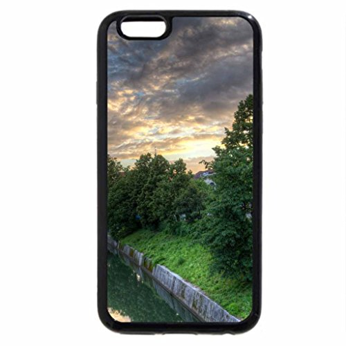 iPhone 6S / iPhone 6 Case (Black) Ljublana after a Storm