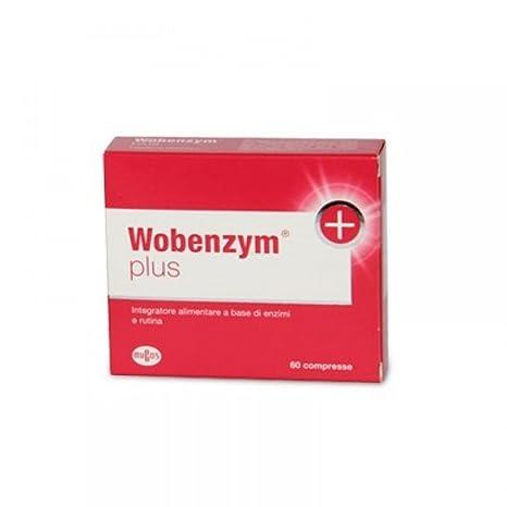 Nombrado Suplemento Wobenzym + Plus Alimentación 60 Tabletas