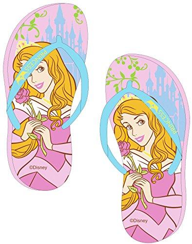 Tongs enfant fille Disney Princesse Aurore Rose/bleu du 28 à 34
