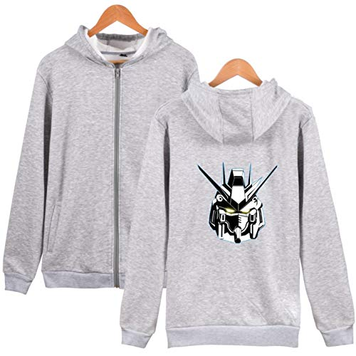 BWWX Anime Printed Hoodie Sweatshirt Men Women Zipper Tracksuit Model at Amazon Womens Clothing store: