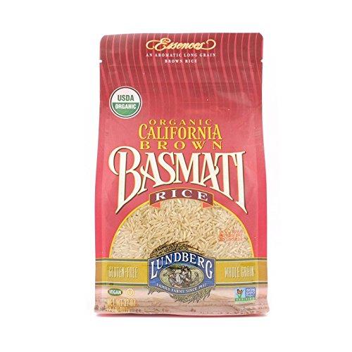 Lundberg California Brown Basmati Rice, 32 Ounce, Organic