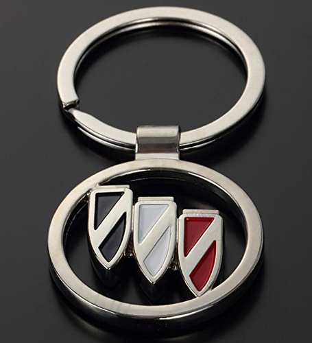 KEYCHAIN 3D METAL KEY RING FOR BUICK (Car Buick Limited)