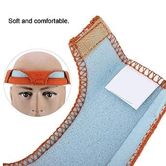 Forro de casco absorbente de sudor de algod/ón soldadura. Accesorios de sombrero de verano transpirables y absorbentes de sudor para trabajo al aire libre 2 Pcs