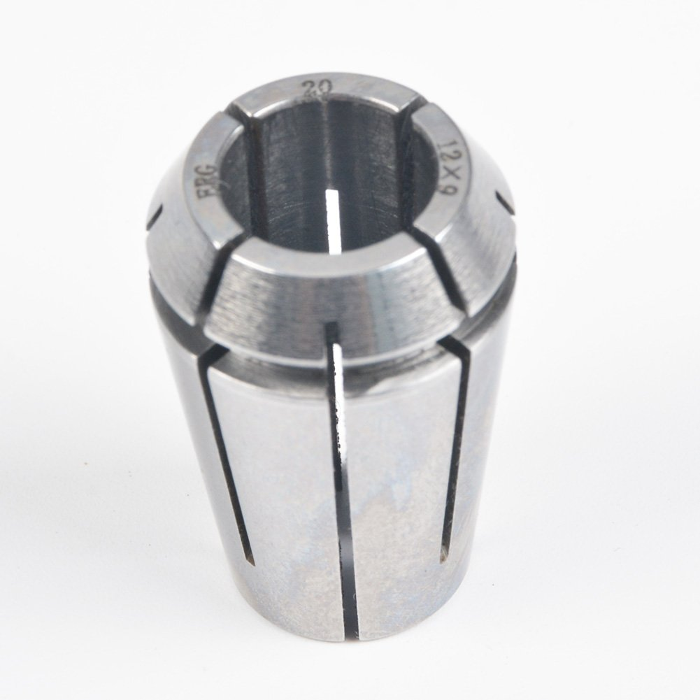 ERG20 12×9 Advanced Formula Spring Steel Collet Sleeve Tap,For Lathe CNC Engraving Machine & Lathe Milling Chuck