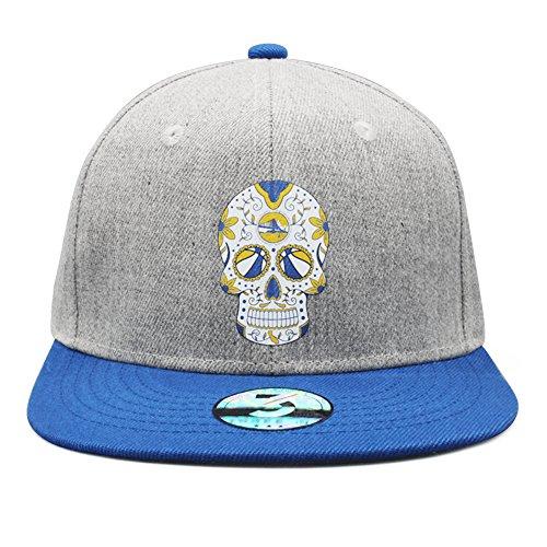 - Victoria Rob Unisex Sports Running Caps Adjustable Flat Bill Plain Snapback Hats (Style B)