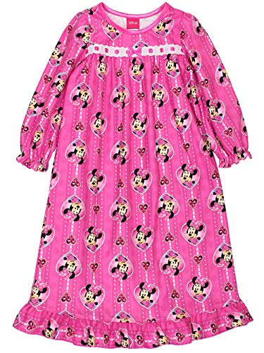 Disney Minnie Mouse Little Girls' Toddler Nightgown - pink/multi, 4t