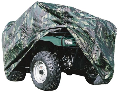 Canvas Wheel Duty Cover Heavy (Universal ATV Vehicle Protective Cover - Quad Wheel Dust and Weather Protection w/ Polyester Canvas Heavy Duty Fabric, Storage Bag, For Up to 82