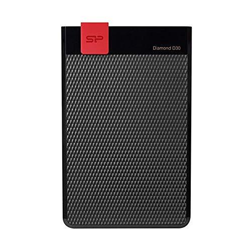 シリコンパワー ポータブルHDDDiamond D30 5TB ブラック SP050TBPHDD3LS3K 1台 AV デジモノ パソコン 周辺機器 HDD 14067381 [並行輸入品] B07MNV8PGC