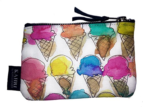 Ice Cream Cones Coin Purse