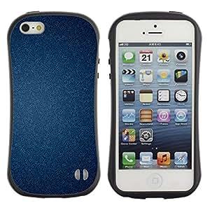 """Pulsar iFace Series Tpu silicona Carcasa Funda Case para Apple iPhone 5 / iPhone 5S , Textura del papel pintado con clase"""""""