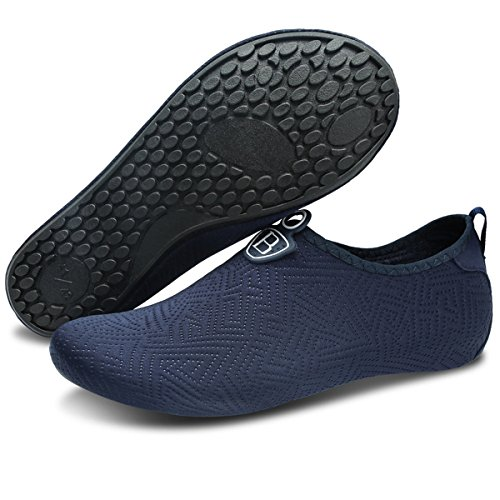Aqua Socks Darkblue JOINFREE Womens Yoga Men's Pool Swim Dry Shoes Quick Barefoot Water Sports Beach Surf for wc8Hza