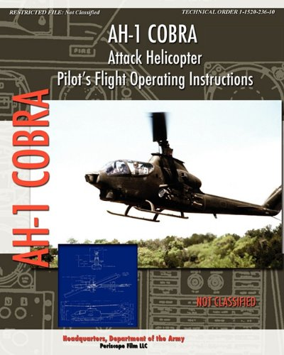 AH-1 Cobra Attack Helicopter Pilot's Flight Operating Instructions (Cobra Helicopter Ah1)