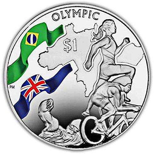 British Virgin Islands 2016 Rio de Janeiro Olympics Triathlon Colour - Triathlon British