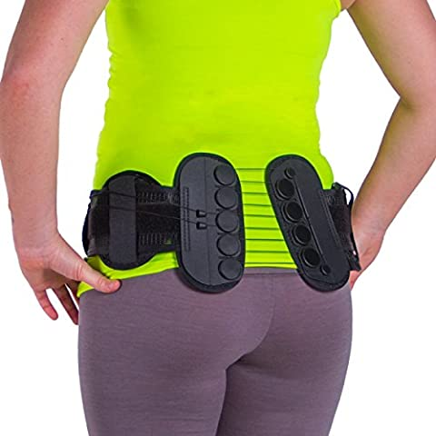 Sacroiliac Compression Brace Belt for SI Joint Pain Relief, Bruised / Broken Tailbone Pain and Coccyx - Sacral Belt