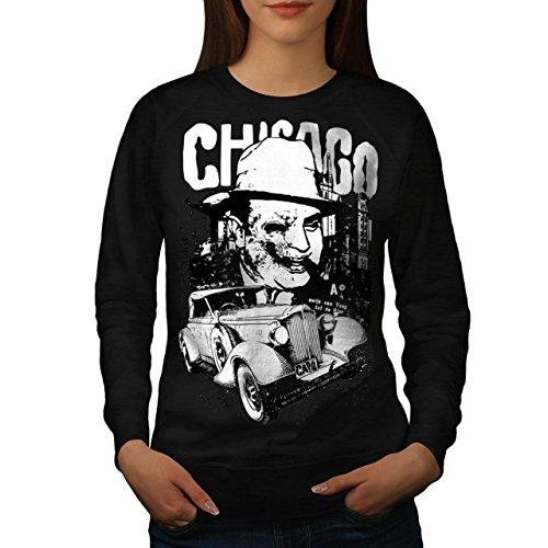 Chicago Evil Gangster Mobster Women NEW M Sweatshirt | Wellcoda (Female Mobster)