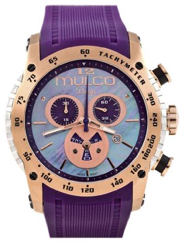 Mulco Unisex MW1-29878-076 Deep Scale Chronograph Swiss Movement Watch