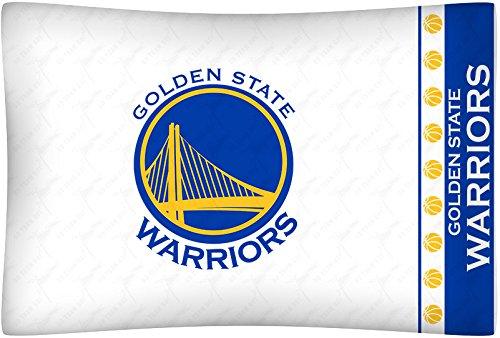 Golden State Warriors 3 Piece FULL Size Comforter Set - (1 Comforter and 2 Pillow Cases) SAVE BIG ON BUNDLING!