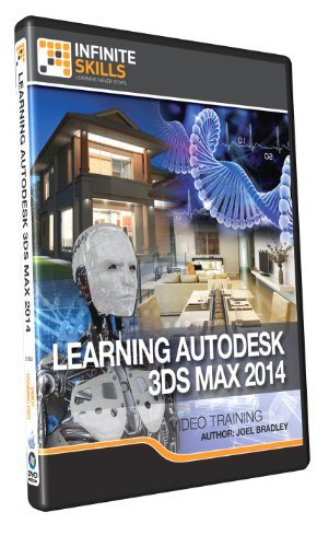 Learning Autodesk 3DS Max 2014 - Training DVD by Infiniteskills