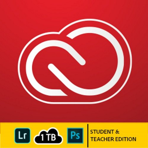 Adobe Creative Cloud Photography plan with 1TB Student and Teacher | 1 Year Subscription (Mac Download) by Adobe