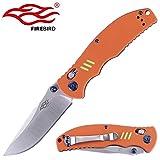 Best Get Hidden Pocket Knives - Knife F7501 Firebird by Ganzo G7501 Pocket Folding Review