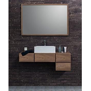 Set Badezimmer Teak Holz – Waschtisch Badezimmer-Teak 145 cm ...