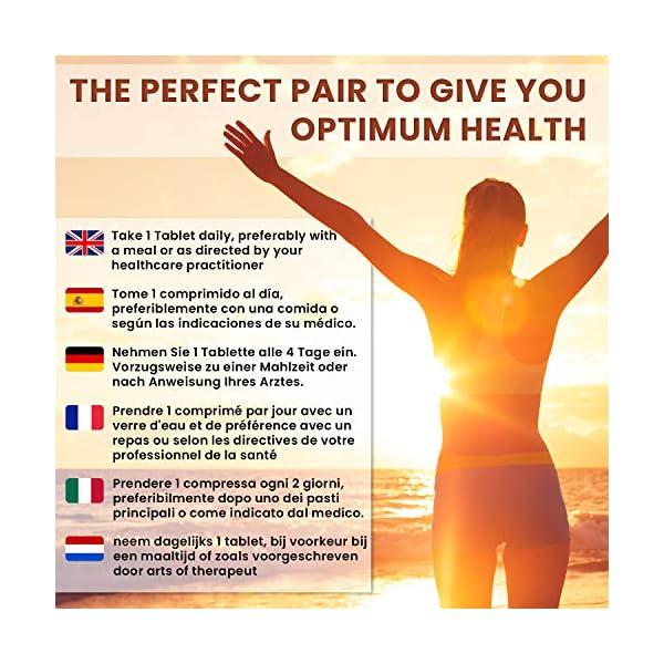 Vitamine D3 K2 (MK-7) Extra fort 4000 ui – 180 Micro Comprimés soit 1 an d'utilisation pour Homme et Femme | Vitamine D…
