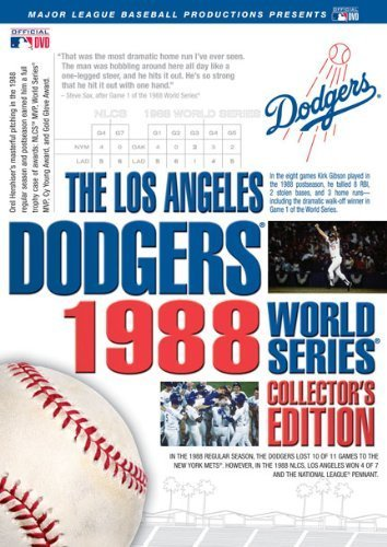 Los Angeles Dodgers Video - Los Angeles Dodgers 1988 World Series Collector's Edition by A&E HOME VIDEO
