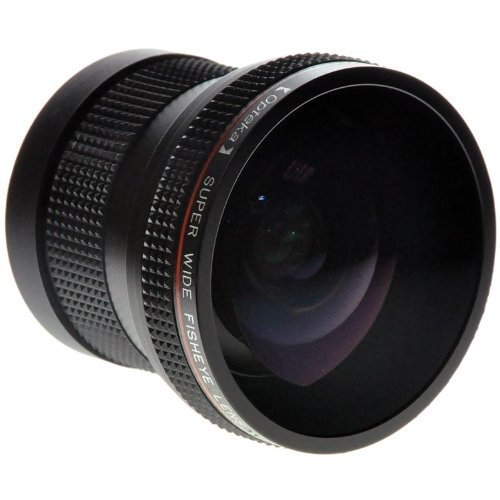 Opteka 0.20X Professional Super AF Fisheye Lens for Nikon D4s, D4, D3x, Df, D810, D800, D750, D610, D600, D7200, D7100, D7000, D5500, D5300, D5200, D5100, D3300, D3200 and D3100 Digital SLR Cameras by Opteka