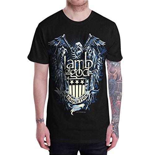 "Lamb of God Burn the Priest Black T Shirt,Sleeveless,Long Sleeve (T-Shirt Size XL(Chest Width 23"" : Length 31""))"