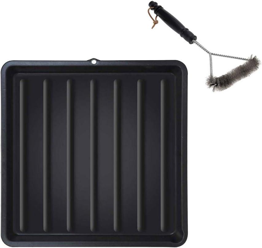 f/ür 60 cm Grillroste ToCis Big BBQ Grillrost Reinigungs Wanne aus Kunststoff 67 x 67 cm