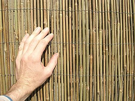 Cierre de caña de bambú, de 4 x 2 m: Amazon.es: Bricolaje y herramientas