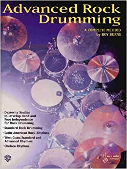 Advanced Rock Drumming [Paperback] [December 1999] (Author) Roy Burns
